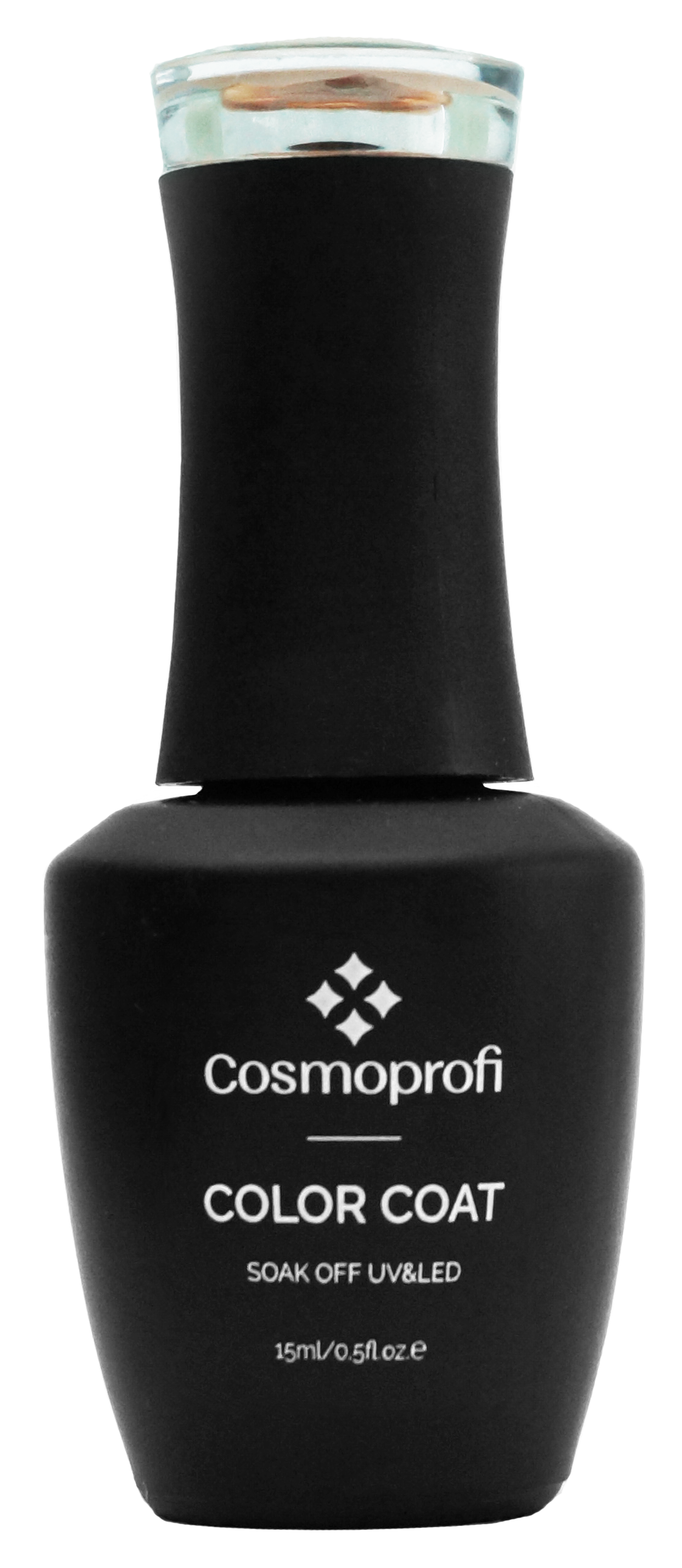 Гель-лак Cosmoprofi, Color coat № 123 - черный, 15 мл
