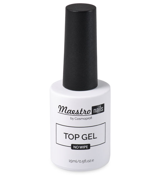 Топ без липкого слоя Maestro nails Top gel - 15 ml