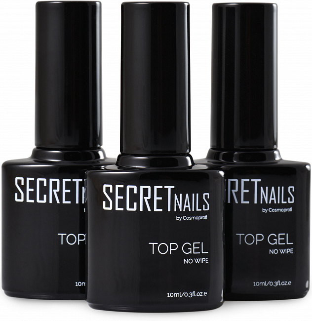 Топ без липкого слоя SECRETnails Top gel - 10 ml