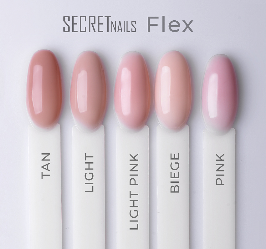 Гель-желе, SECRETnails, Flex Light Pink